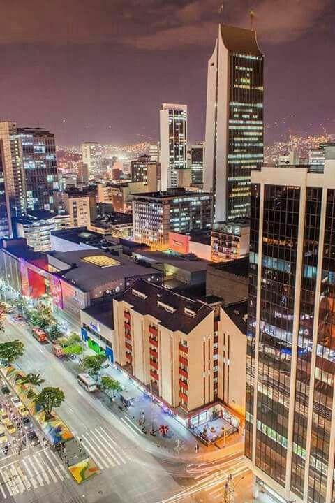 Parte del centro de Medellín.