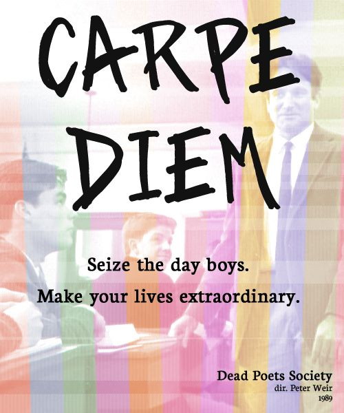 finny and carpe diem philosophy in dead poets society
