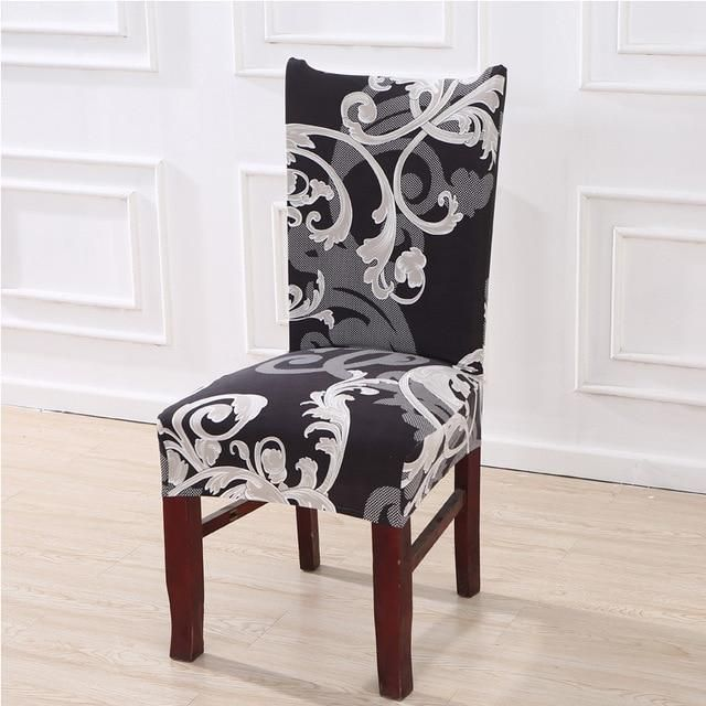 Removable Stretch For Kitchen Home Dining Wedding Decor Chair Seat Covers