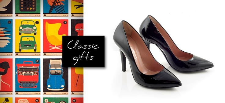 Black All Time Classic Pumps! The epitomy of style and class by Chaniotakis.