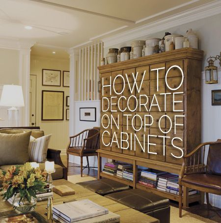 16 best decor on top of cabinets images on pinterest for Small room karen zoid chords