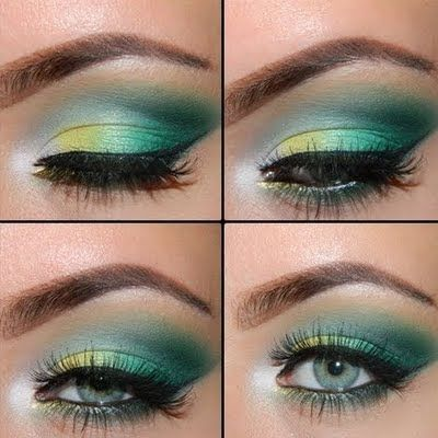 Awesome Game Day Look for the Green & Gold!  #GoPackGo   LiveLaughLoveBeYounique.com