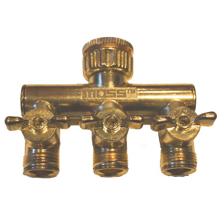 G623 - 3-Way Flo Tap Connector - Moss Products - Metal - Click-on fittings