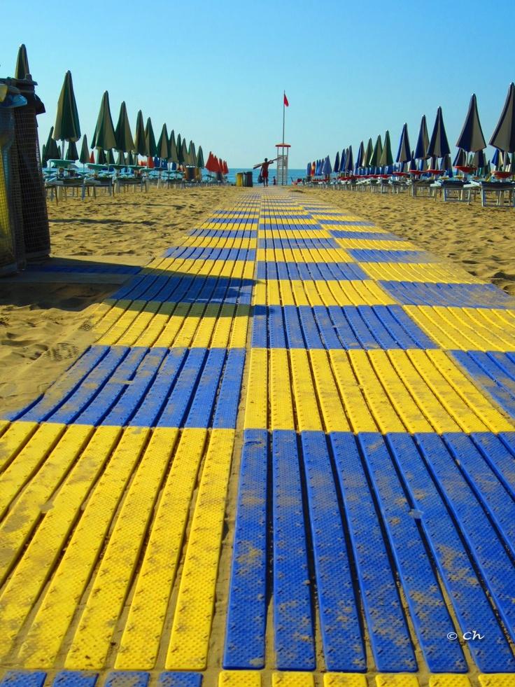 Lignano Sabbiadoro, Italy. Photo Chiara Nicodemo