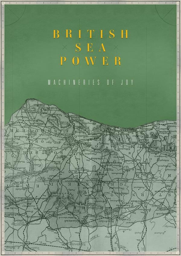 British Sea Power print by James Kirkup