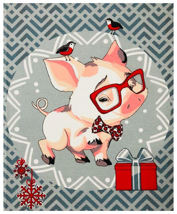 Картинки хрюшек прикольные к новому году, для девочки