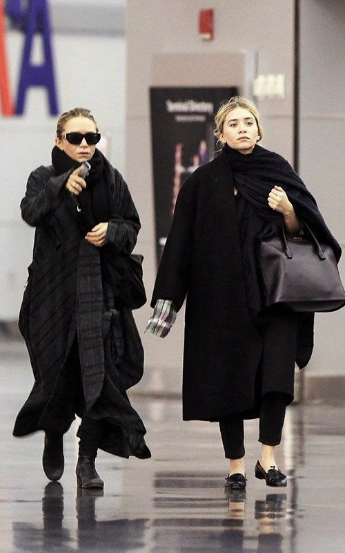 A year of chicness - Mary-Kate and Ashley's best looks of 2014  #fashion #streetstyle #outfit