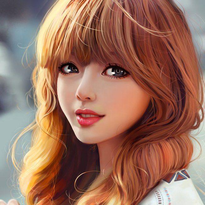 Snack By Yellowlemoncat Photoshop Wacom Digitalpainting Digitalart Artist Portraiture Artwork Art Anime Art Girl Girly Art Digital Art Girl