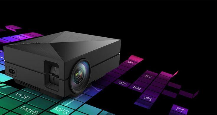 GM60 Mini Digital HD Home Theater Projector w/ HDMI, USB, SD - Black - Free Shipping - DealExtreme