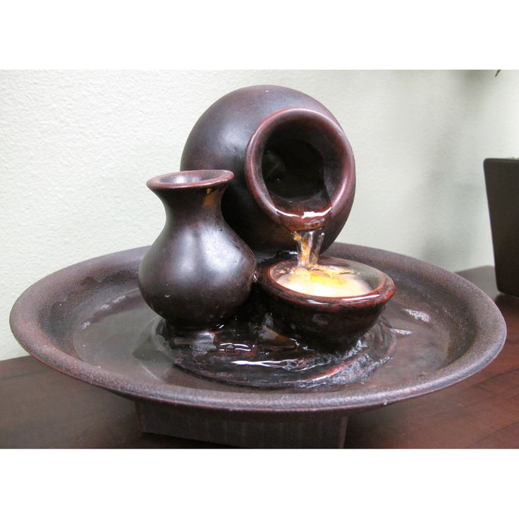 Welland LLC Pouring Pot Tabletop Fountain