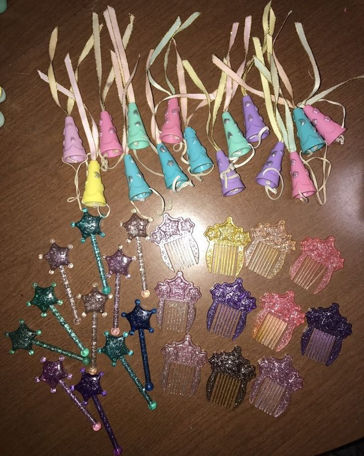 VINTAGE MY LITTLE PONY •PRINCESS ACCESSORY LOT•