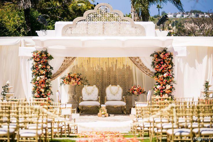 Beautiful, Understated Wedding In Ivory & Pink! | WedMeGood