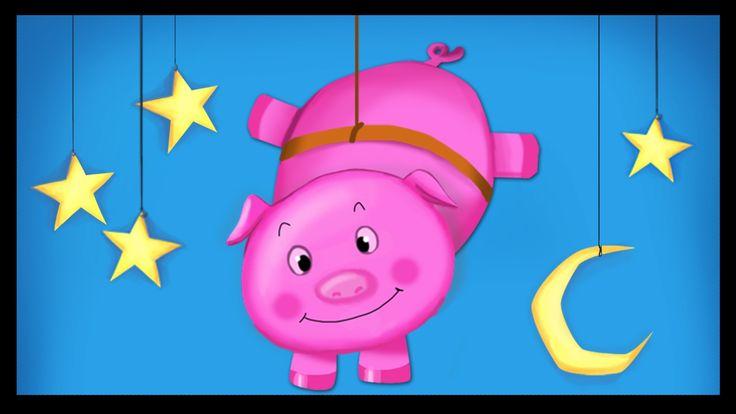 Un petit cochon pendu au plafond