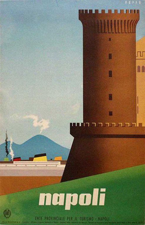 Napoli, Enit poster   Naples, Italy