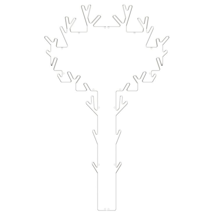 Tree Hanger, White, 152