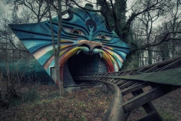 Abandoned amusement park. Berlin, Germany Spreepark Plänterwald Kiehnwerderallee 1 12437 Berlin Germany Phone number +49 30 115 http://www.yelp.com/biz/spreepark-pl%C3%A4nterwald-berlin-2 http://www.berliner-spreepark.de/
