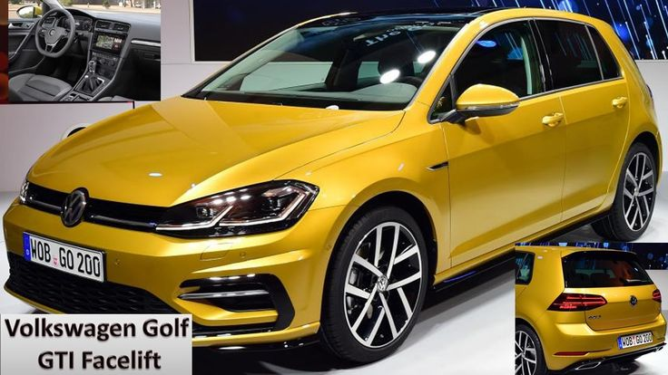 Volkswagen Golf GTI Facelift - New In Depth Review Interior