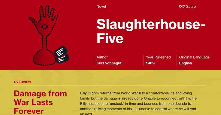 What is Kurt Vonnegut's tone throughout Slaughterhouse Five?