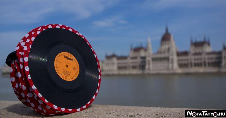 #Budapest #musicbag #dotts #recycling #notatatyo