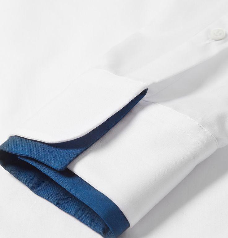 Alexander McQueen - Double-Collar Cotton Shirt | MR PORTER
