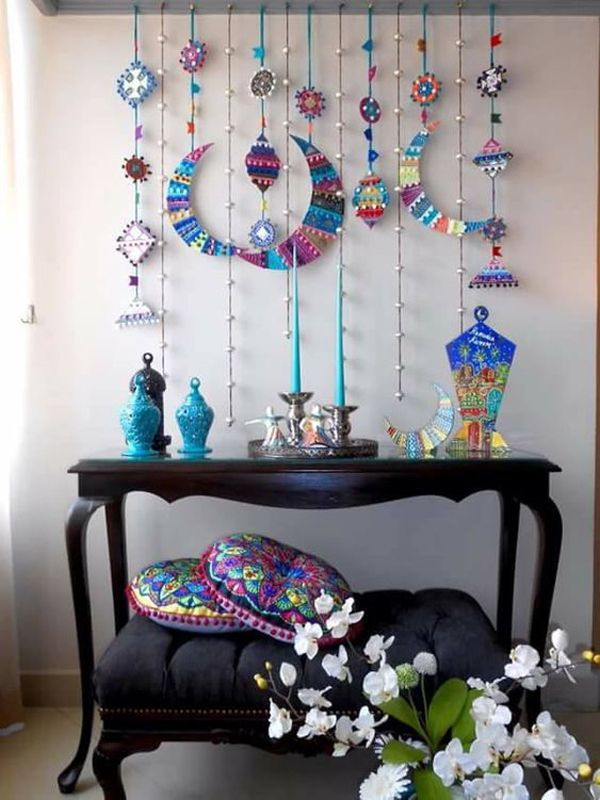 45 Soothing And Calming Ramadan Decorating Ideas Ramadan Decorations Ramadan Kareem Decoration Eid Decoration