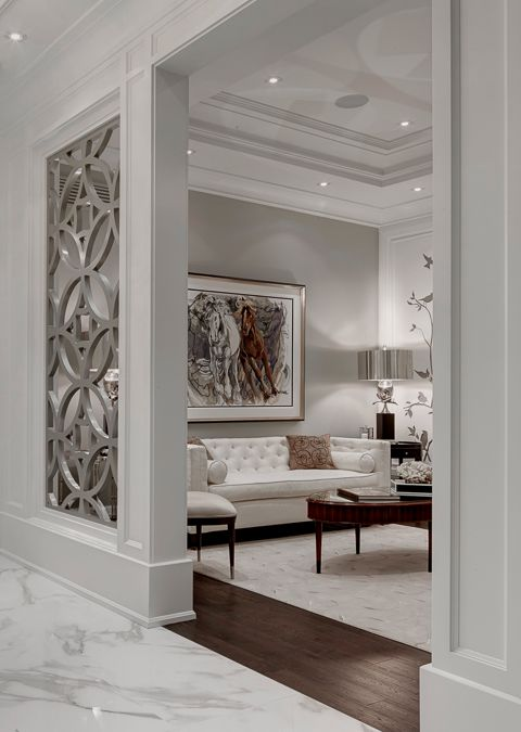 celosa para sala con un diseo que venga ms al caso con estilo de la beautiful living roomswhite - Luxury Sitting Rooms