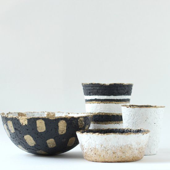 Learn how to take egg cartons and repurpose them into customizable paper bowls and cups.