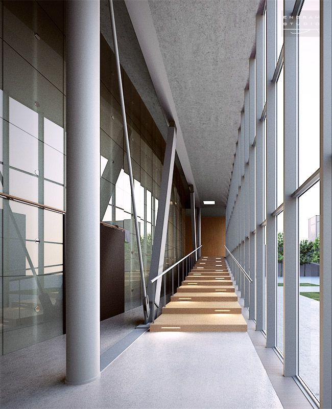 arch. Rem Koolhas - Educatorium in Utrecht