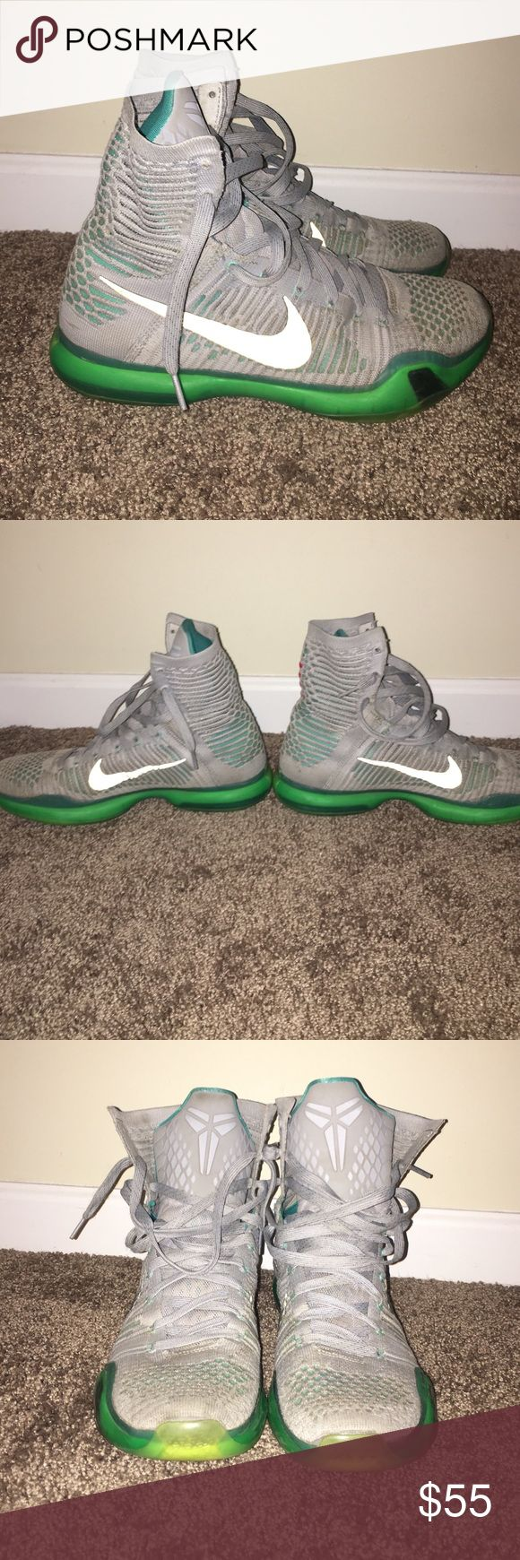 """Kobe 10 elite """"elevate"""" Size US 10.5, good condition, traction is great. Very comfortable shoe. Shoes Sneakers"""