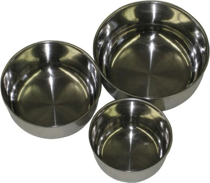A&e Cage Company-A & E Stainless Steel Bowl- Multicolored 4 In