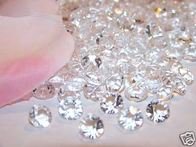 Edible diamonds.