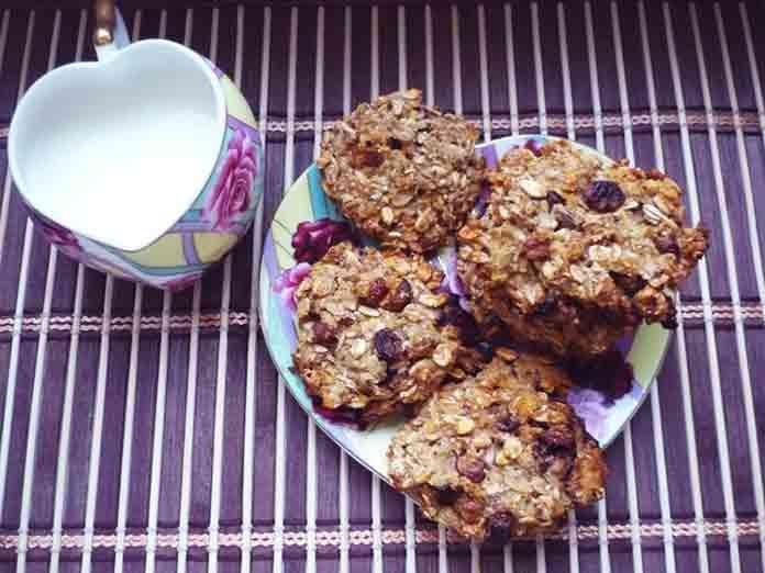 Рецепт овсяного печенья с творогом диетическое | Готовим рецепты