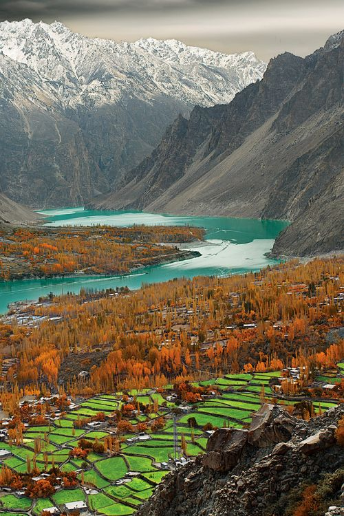 Attabad Lake in Pakistan is a breathtaking example of the natural beauty in the country's north.