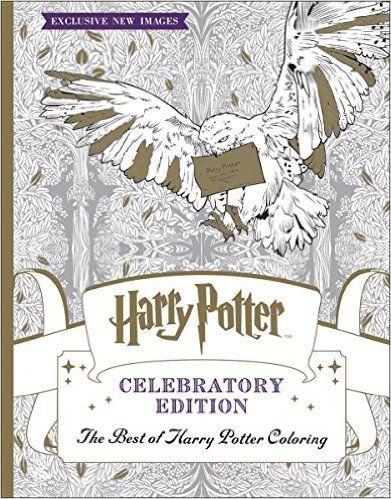 The Best of Harry Potter Coloring: Celebratory Edition (Harry Potter): Scholastic: 9781338166606: Amazon.com: Books