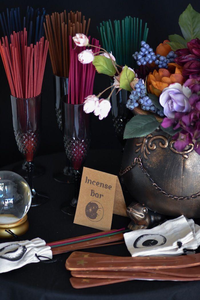Halloween Outdoor Decoration Ideas 2020 Moody Fortune Teller Themed Halloween Party | wedding | Halloween