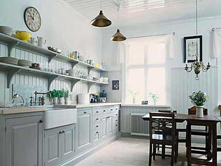 Vintage Open Shelving Kitchen Ideas Http Modtopiastudio Com Great