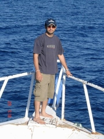 Kettchupians are truly international. Setting sail on the Red Sea, Egypt,