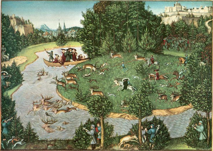 Lucas Cranach  사슴 사냥