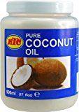 6er Pack 100% Pur Kokosöl [6x 500ml] Cocosöl KTC Pure Coconut Oil