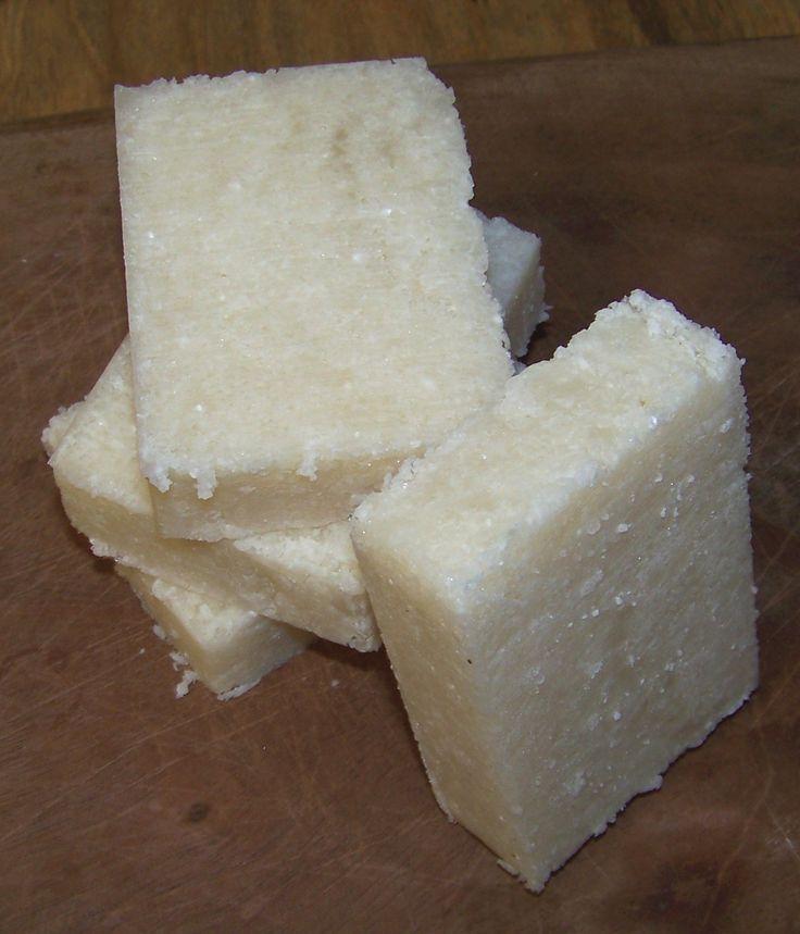 hot process coconut oil salt bars