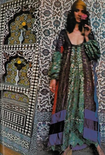 Talitha Getty. I want that dress!