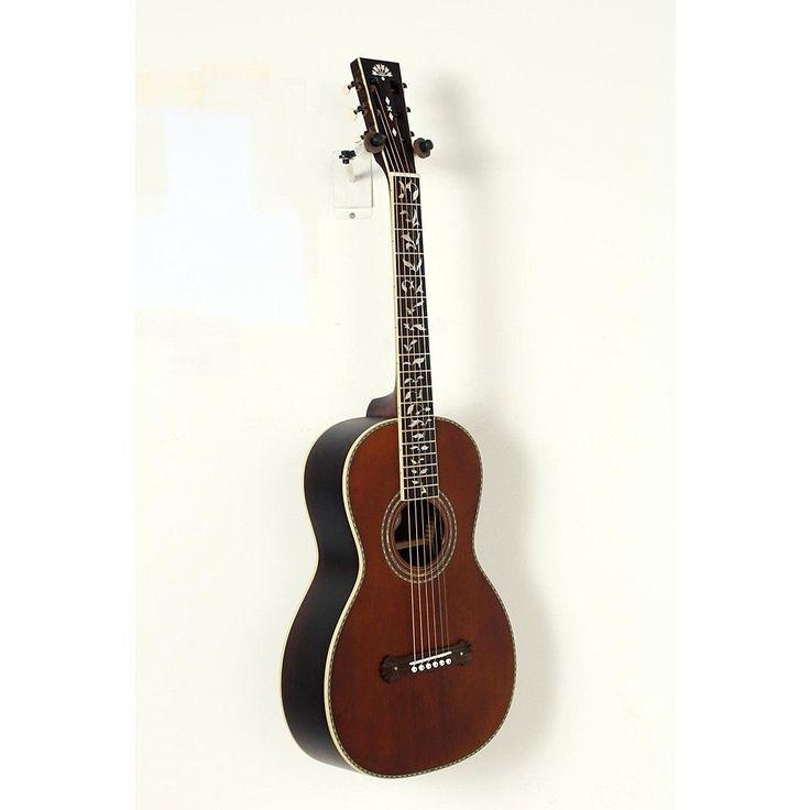 Washburn R320SWRK Vintage Series Parlor Acoustic Guitar Natural 190839080097