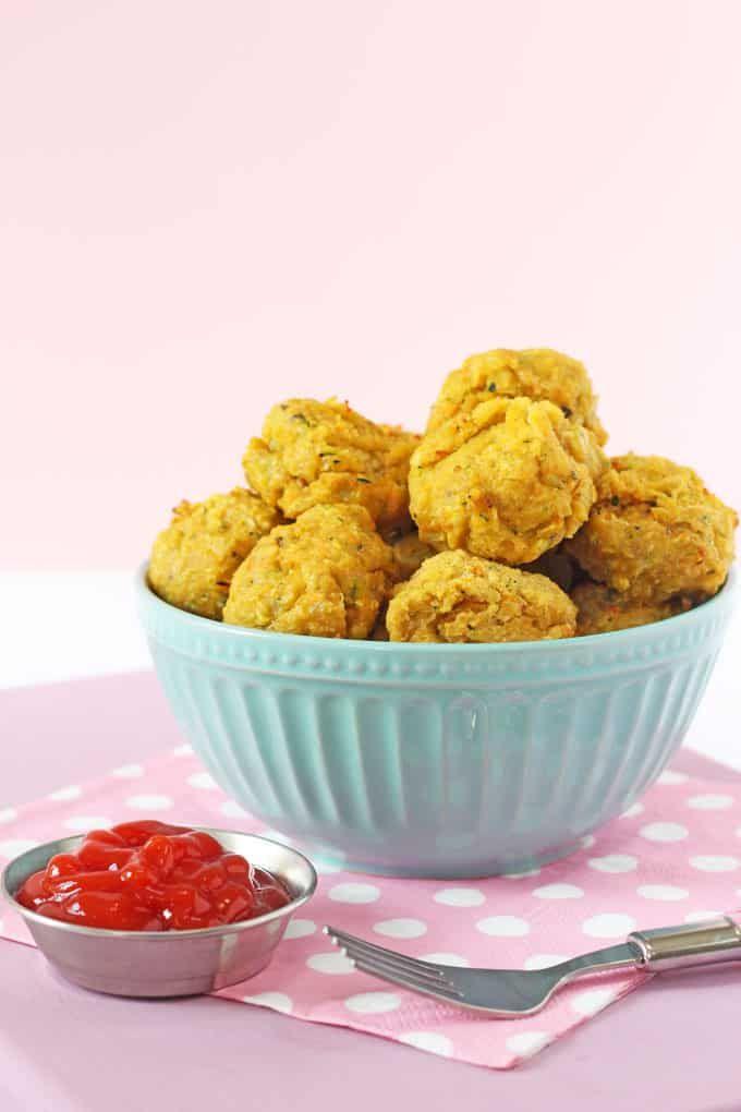 Veggie Meatballs for Kids