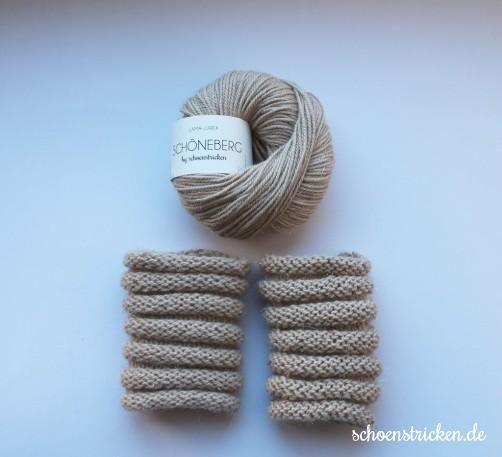 Free pattern: Ein-Wollknäuel-Idee: Pulswärmer stricken + 1 Yarnball ideas (german) - schoenstricken.de