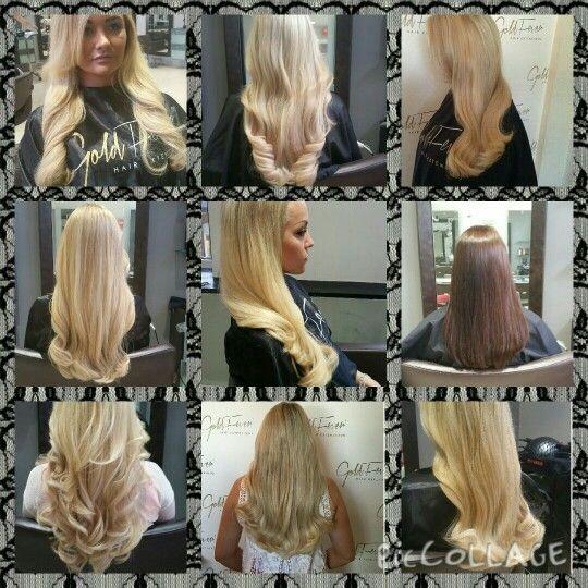Goldfever hair extensions @ Kieran O'Gorman's