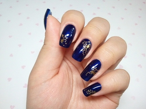 Blue calgel