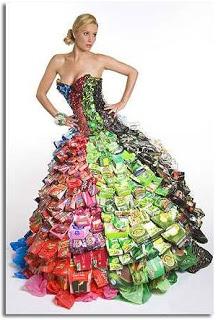 Gran vestido de tetrabrick