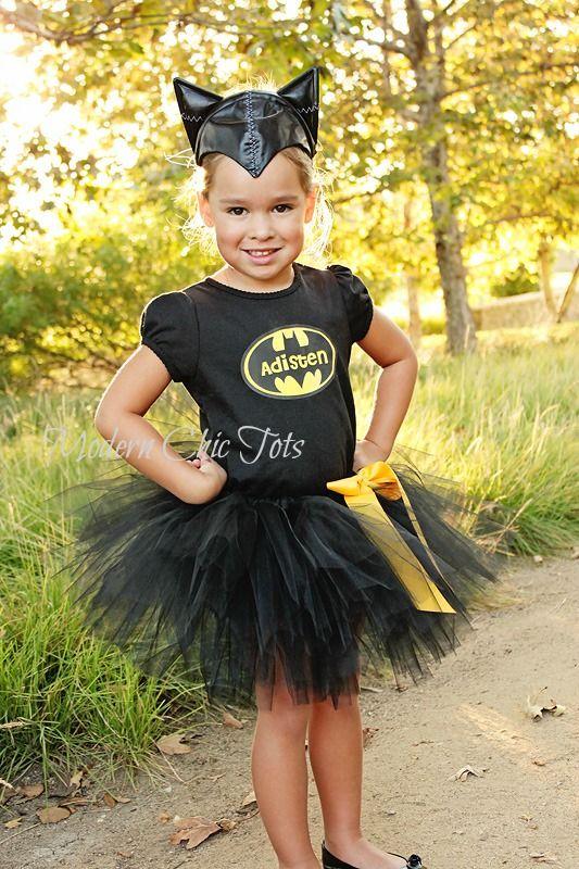 Batman Batgirl Tutu set costume