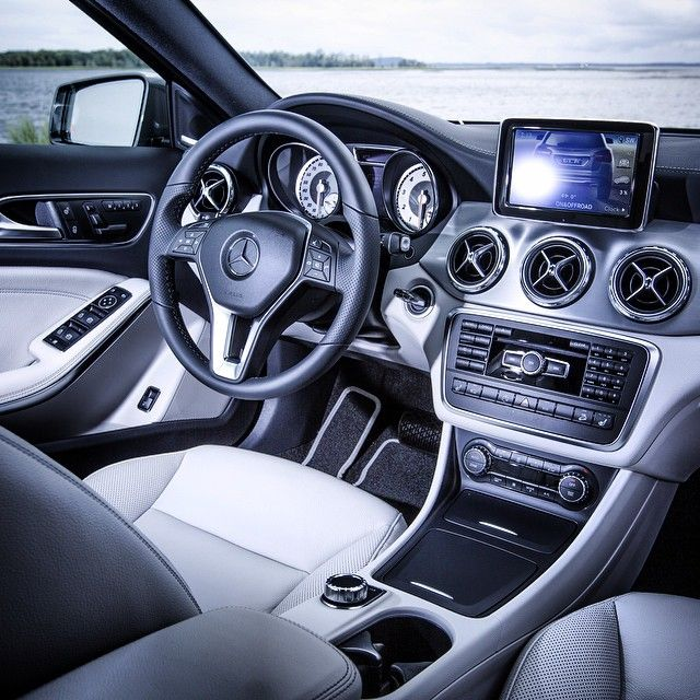 "The all-new GLA comes fitted with all of the style, quality and luxury expected from Mercedes-Benz -- making this a perfect spot for a quick break and a possible sighting of ""Champ"". #MBPressDrive #GLA250 #4MATIC #Mercedes #Benz #SUV #instacar #carsofinstagram #germancars #luxury"
