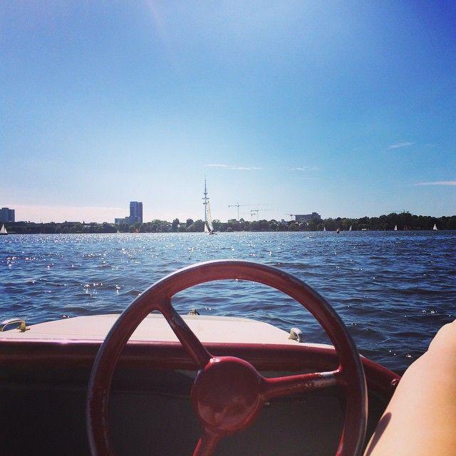 #mulpix Heute schön Tretboot fahren gewesen. das Wetter ist der Hammer in der…